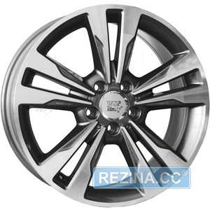 Купить WSP ITALY APOLLO W772 ANTHRACITE POLISHED R18 W7 PCD5x112 ET46 DIA66.6