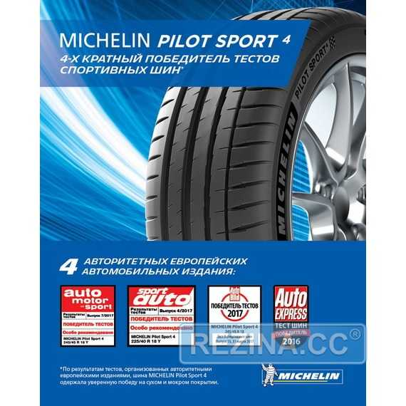 Летняя шина MICHELIN Pilot Sport PS4 - rezina.cc