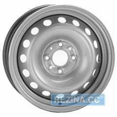 Купить Легковой диск STEEL TREBL 6285T Silver R14 W5.5 PCD4x108 ET44 DIA63.3