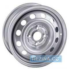 Купить Легковой диск STEEL TREBL 8075T Silver R15 W6 PCD4x114.3 ET43 DIA67.1