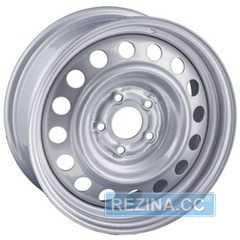 Легковой диск STEEL TREBL X40010 Silver - rezina.cc
