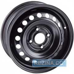 Купить Легковой диск STEEL TREBL X40051 BLACK R16 W6.5 PCD4x108 ET20 DIA65.1