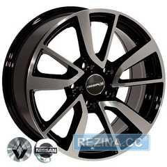 Купить Легковой диск REPLICA NISSAN BK853 BP R16 W7.0 PCD5x114.3 ET35 DIA66.1