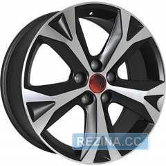 Купить Легковой диск REPLICA LegeArtis LX57 MBF R18 W7.5 PCD5x114.3 ET35 DIA60.1
