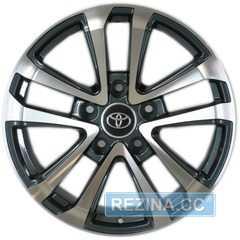 Легковой диск REPLICA TY1007 GMF - rezina.cc