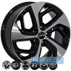 Купить Легковой диск REPLICA BK5312 BP KIA R17 W7 PCD5x114.3 ET51 DIA67.1