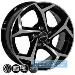 Купить Легковой диск REPLICA SEAT BK5340 BP R15 W6 PCD5x100 ET35 DIA57.1