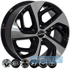 Купить Легковой диск ZW BK5312 BP MAZDA R17 W7 PCD5x114.3 ET51 DIA67.1