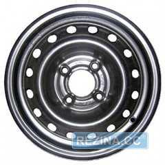 Легковой диск SKOV STEEL WHEELS Chevrolet Aveo Черный - rezina.cc