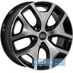 Купить Легковой диск REPLICA MITSUBISHI FE137 BMF R17 W6.5 PCD5x114.3 ET40 DIA67.1