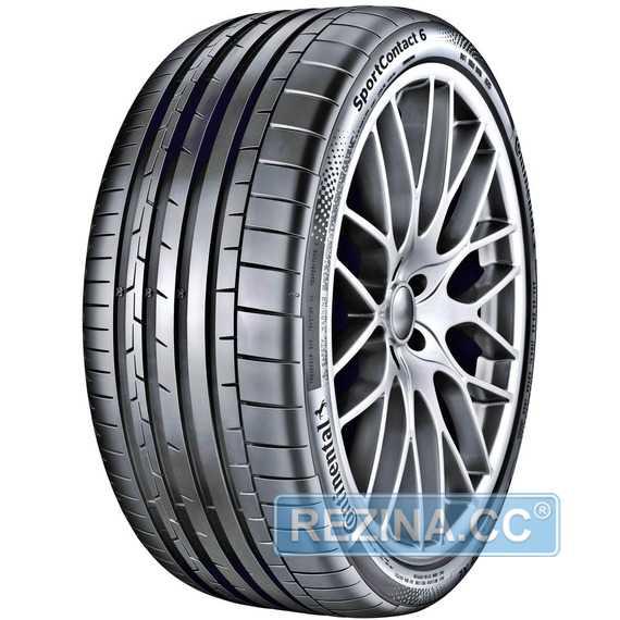 Купить Летняя шина CONTINENTAL ContiSportContact 6 265/45R20 108Y