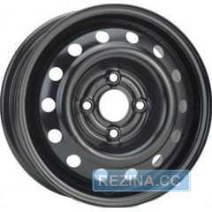 Купить Легковой диск SKOV STEEL WHEELS Deawoo Lanos Sens Black R14 W5.5 PCD4x100 ET49 DIA56.6