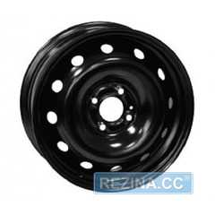 Легковой диск SKOV STEEL WHEELS Renault Logan, MCV Black - rezina.cc