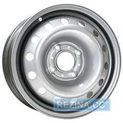 Легковой диск SKOV STEEL WHEELS ВАЗ 2110, Калина, Приора Silver - rezina.cc