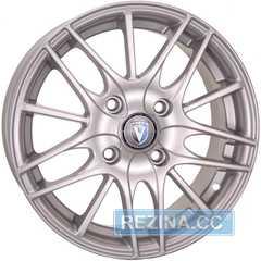 Купить TECHLINE 1406 S R14 W5.5 PCD4x100 ET43 DIA67.1