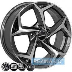 Купить Легковой диск REPLICA VOLKSWAGEN BK5340 GP R15 W6 PCD5x112 ET40 DIA57.1