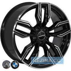 Легковой диск REPLICA BMW BK5181 BP - rezina.cc