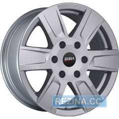 Купить Легковой диск DISLA Cyclone 722 S R17 W7.5 PCD6x139.7 ET40 DIA67.1
