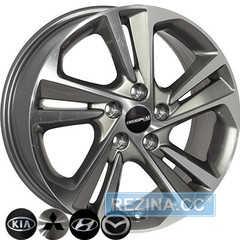 Купить Легковой диск ZF TL0422 GMF R17 W7 PCD5x114.3 ET53 DIA67.1