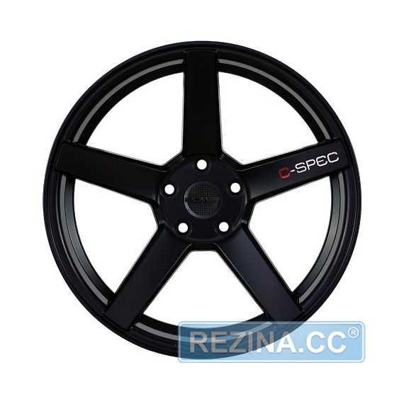 Легковой диск PDW C-SPEC Flat Black - rezina.cc