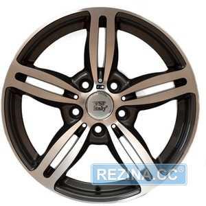 Купить WSP Italy Agropoli BM52 W652 Anthracie Polished R17 W8 PCD5x120 ET15 DIA72.6