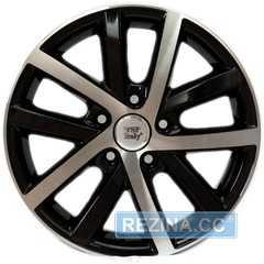 Купить Легковой диск WSP ITALY W460 Rheia GLOSSY BLACK POLISHED R16 W6.5 PCD5x112 ET50 DIA57.1