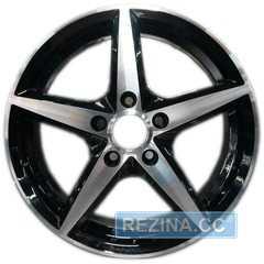 Легковой диск REPLICA JT-1254 BM - rezina.cc