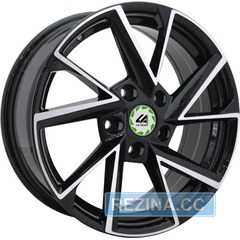 Купить Легковой диск REPLICA LegeArtis SK9-S BKF R16 W6.5 PCD5x112 ET46 DIA57.1