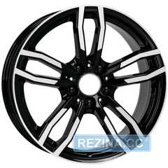 Легковой диск ALUTEC Drive Diamond Black Front Polished - rezina.cc
