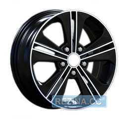 Купить Легковой диск REPLAY HND224 BKF R16 W6 PCD5x114.3 ET43 DIA67.1