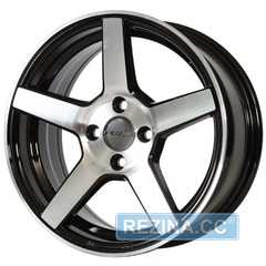 Купить Легковой диск PDW C-Spec Flat Black Machine​ Face R16 W7 PCD5x100 ET35 DIA67.1
