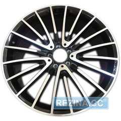 Купить Легковой диск REPLICA MR252 BKF R21 W10 PCD5x112 ET46 DIA66.6