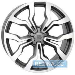 Купить Легковой диск WSP ITALY MEDEA W565 DULL BLACK FULL POLISHED R18 W7.5 PCD5x112 ET51 DIA57.1