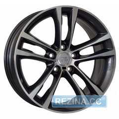 Купить WSP ITALY ACHILLE W681 ANTHRACITE POLISHED R17 W8 PCD5x120 ET53 DIA72.6