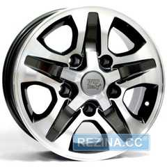 Купить Легковой диск WSP ITALY CESARE W1751 ANTHRACITE POLISHED R16 W8 PCD5x150 ET0 DIA110.1