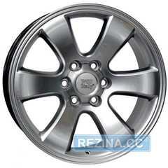 Купить Легковой диск WSP ITALY W1707 HYPER SILVER R17 W7.5 PCD6x139.7 ET30 DIA106.1