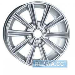 Купить Легковой диск JH 1280 Silver R15 W6.5 PCD4x98 ET35 DIA58.6