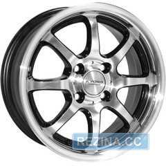 Купить Легковой диск KYOWA KR-529A BKF R14 W5 PCD4x100 ET40 DIA73.1