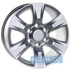 Купить Легковой диск REPLICA JH-0301 Silver R17 W7.5 PCD6x139.7 ET25 DIA106.1