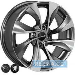 Купить Легковой диск REPLICA PEUGEOT 5070 GMF R16 W6.5 PCD4x108 ET17 DIA65.1