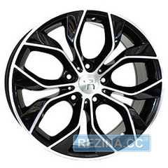 Купить Легковой диск REPLAY VV245 BKF R18 W8 PCD5x120 ET50 DIA65.1