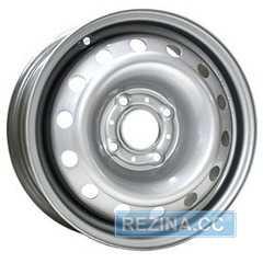 Купить Легковой диск STEEL TREBL 53A43C Silver R14 W5.5 PCD4x100 ET43 DIA60.1