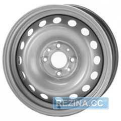 Купить Легковой диск STEEL TREBL 6205T Silver R14 W5.5 PCD4x100 ET40 DIA54.1