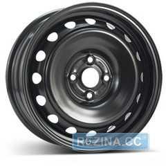 Купить Легковой диск STEEL TREBL 9695T Black R16 W6.5 PCD4x108 ET31 DIA65.1