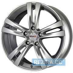 Купить MAK ZENITH Hyper Silver R15 W6,5 PCD5x114,3 ET40 DIA76