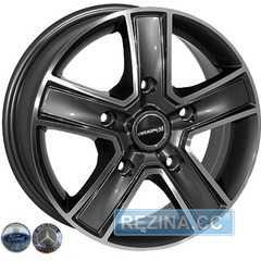 Купить Легковой диск ZW BK473 GP R16 W7 PCD5x118 ET45 DIA71.1