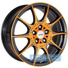 Купить Легковой диск SPEEDLINE MARMORA SL2 Orange-racing-matt Black R18 W8 PCD5x112 ET35 DIA82