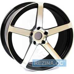 Легковой диск ALEXRIMS AOZ03-PAM03 Black/coating finish - rezina.cc