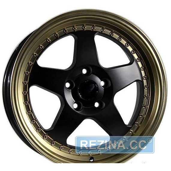 Купить Легковой диск PDW 2001 Black Machine Lip ​With Bronze Cover R17 W8 PCD5x114.3 ET35 DIA73.1