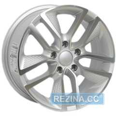 Купить Легковой диск PDW 5218 Rough Silver Machine Face R18 W8 PCD5x108 ET45 DIA73.1